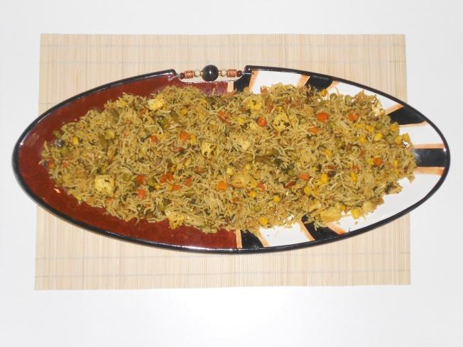 Vegetables Rice Pilaf