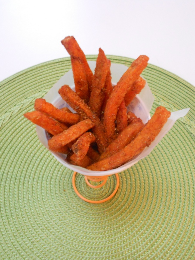 Fiery Sweet Potato Fries
